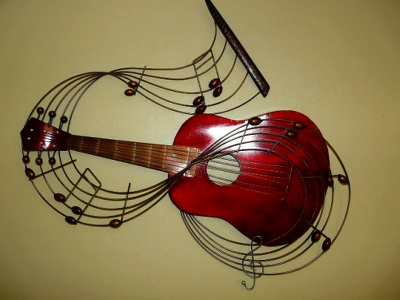 music themed wall decor
