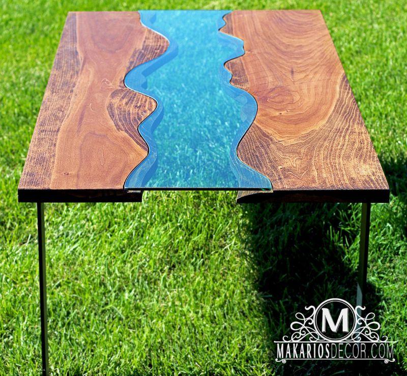 Makarios Decor River Coffee Table 2