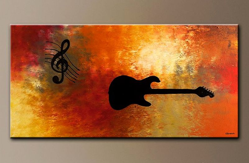 Music Inspired Wall Decor : Must try music themed home decor ideas for lovers