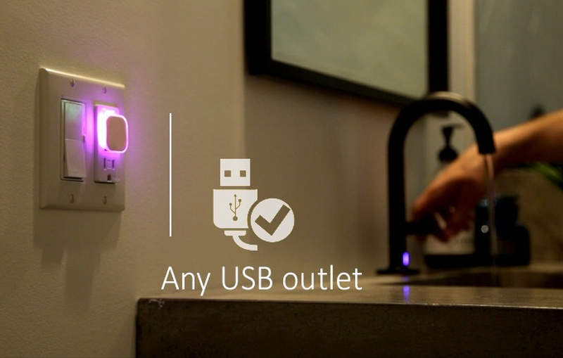 Aumi Mini smart nightlight notifies about retweets, emails and more