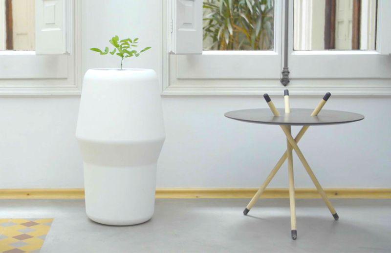 Bios Incube urn planter