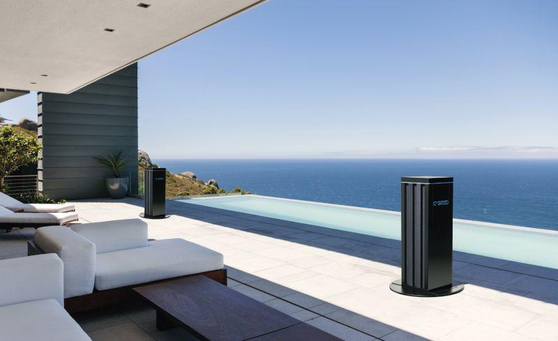 C Seed retractable outdoor speaker