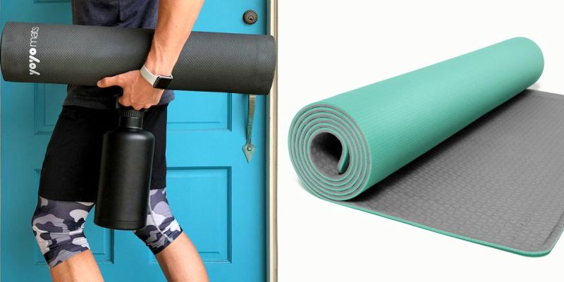 Cali Roll yoga mat by YoYo Mats