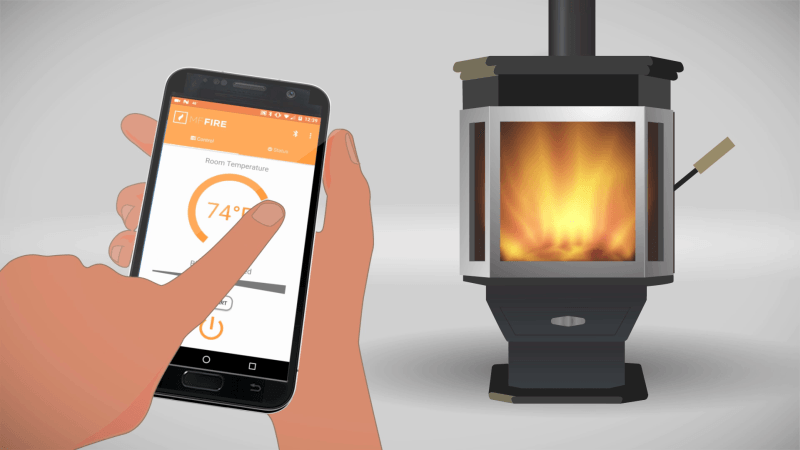 Catalyst Smart Wood Burning Stove By Mf Fire Images