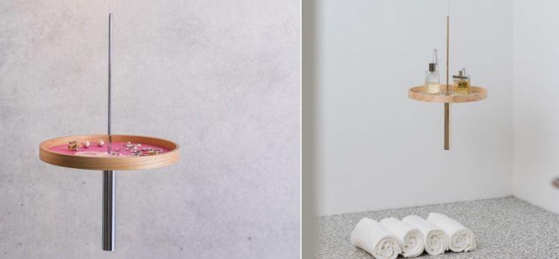 Circulum floating shelf by Rakets studio