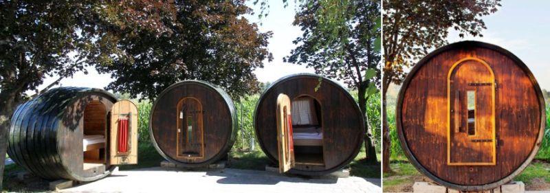 Barrel hostel