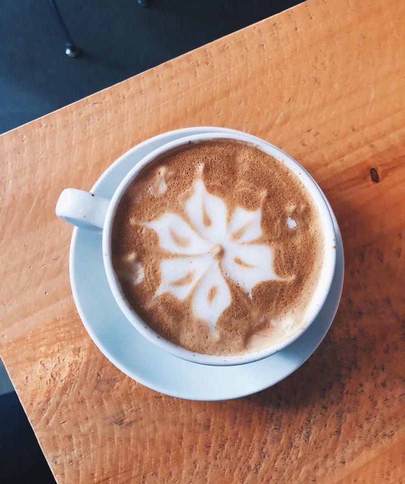 Clover latte art
