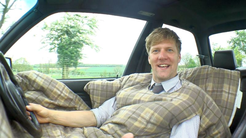 Colin Furze Invents Carvet To Make Sleeping In Car More