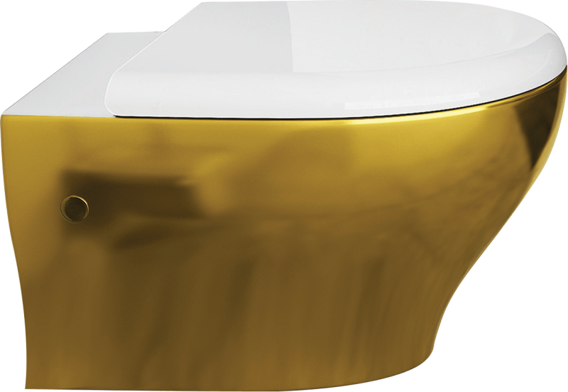 ColorISVEA collection's golden hang pan