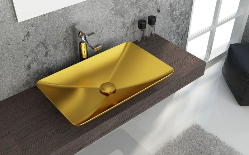 ISVEA redefines bathroom collection with splendid metallic series