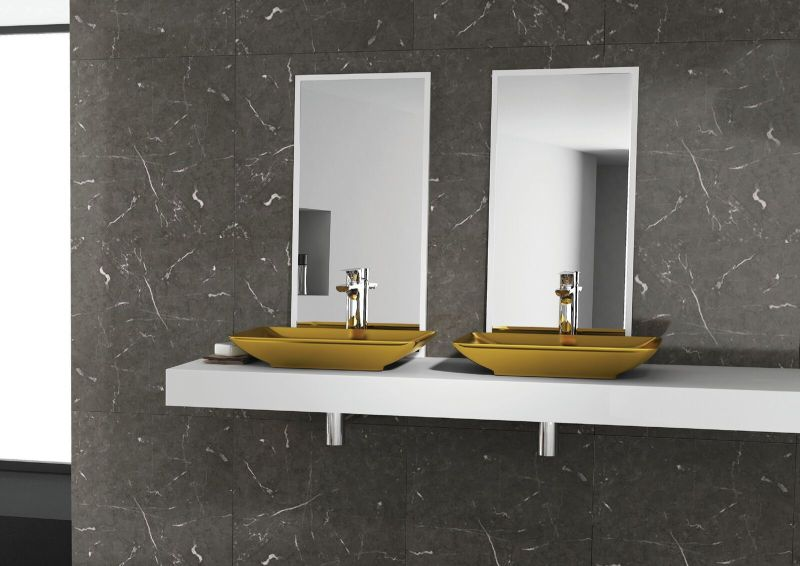 ColorISVEA metallic bathroom collection