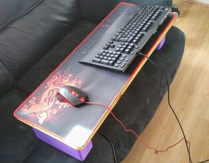 Computer Coffee Table DIY