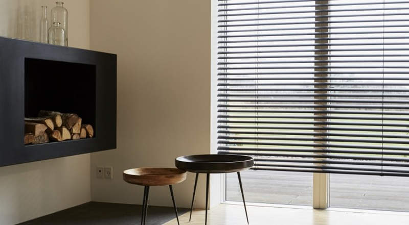 Copenhagen smart blinds roll up with the push of a button for Smart window shades