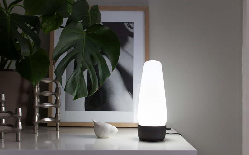 Covi smart lamp doubles as voice assistant