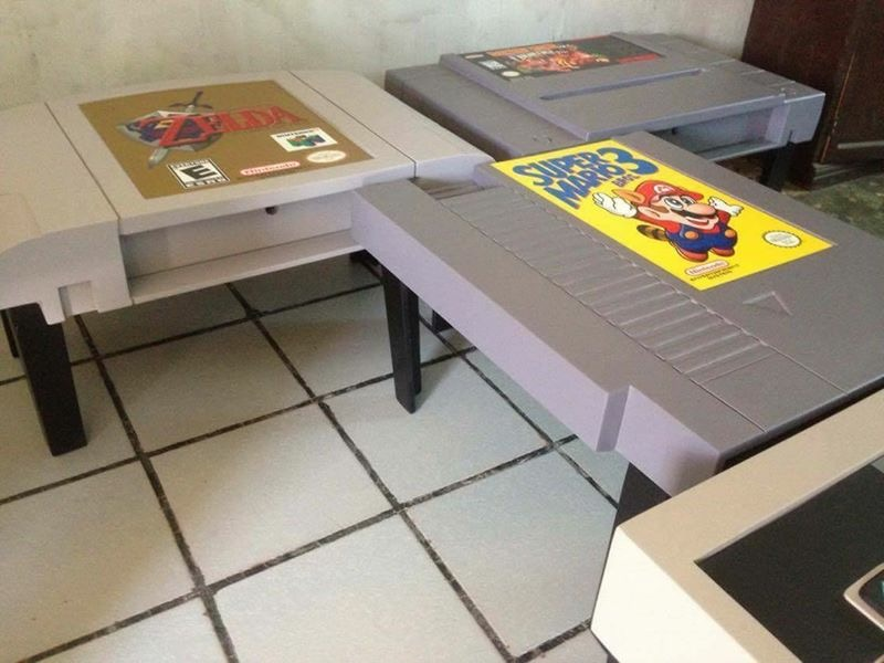 DIY Video Game Coffee Table
