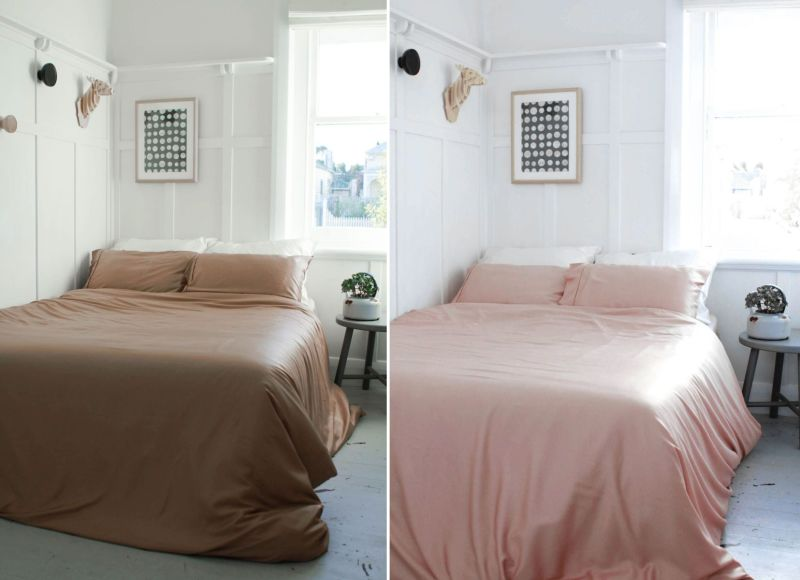 Ettitude coffee-infused bedding