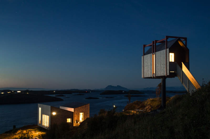 Fordypningsrommet in Norway is a thought-provoking Arctic holiday resort