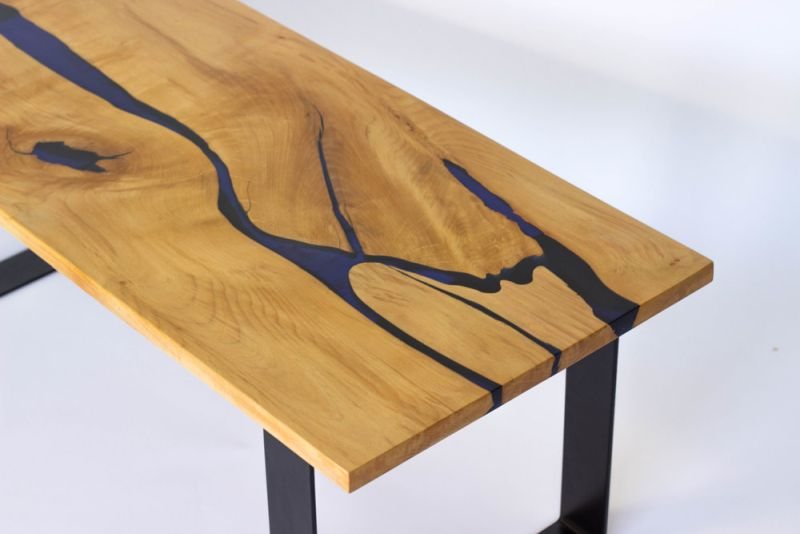 Grande Ronde river table from Blacktail Studio