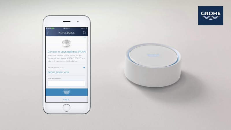 Grohe releases smart sensors to prevent water flooding at home