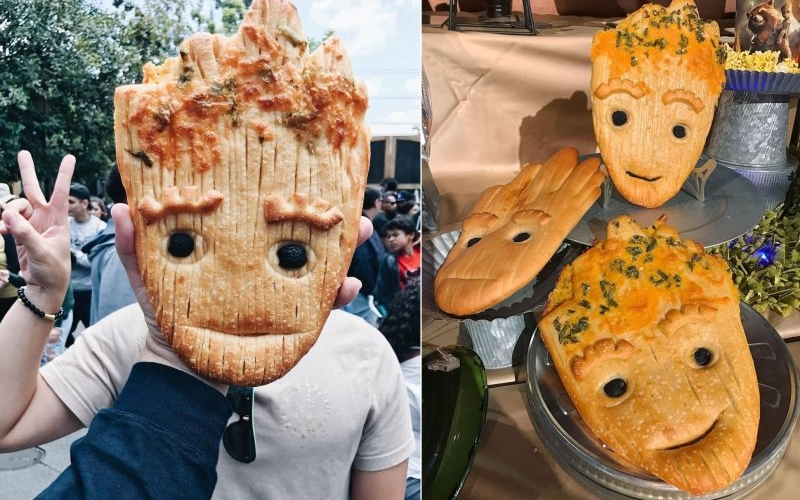 Disneyland's Groot bread is going viral for good reason
