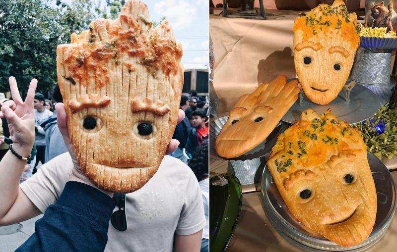 Groot Bread Disneyland