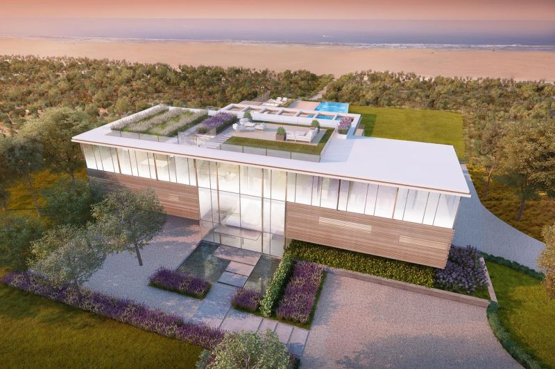Hampton's $45 million home with transparent pool