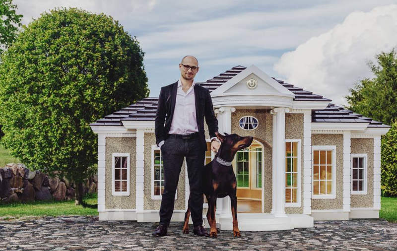 Hecate Verona's smart dog houses will put your home to shame