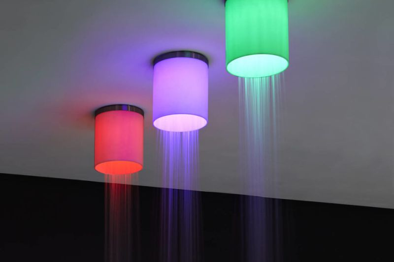 Iride showerhead by Antonio Lupi