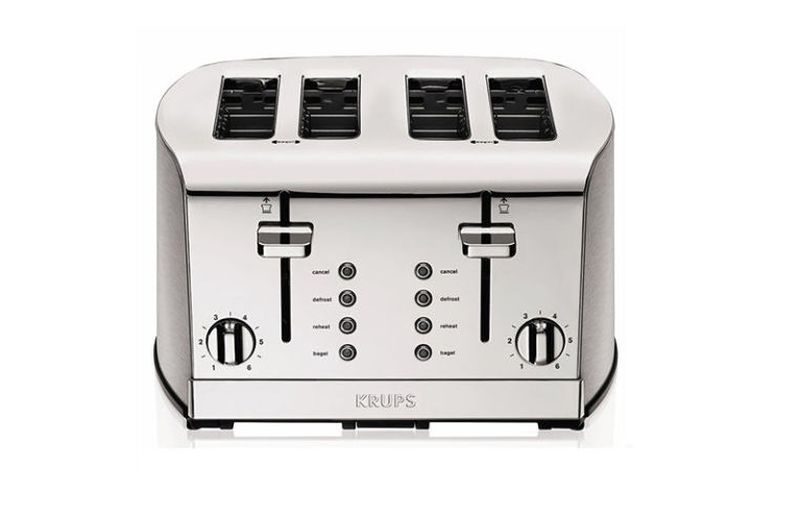 KRUPS KH734D Breakfast Set 4-Slot Toaster