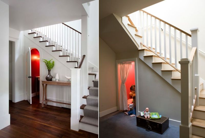 Kids room under the stairs