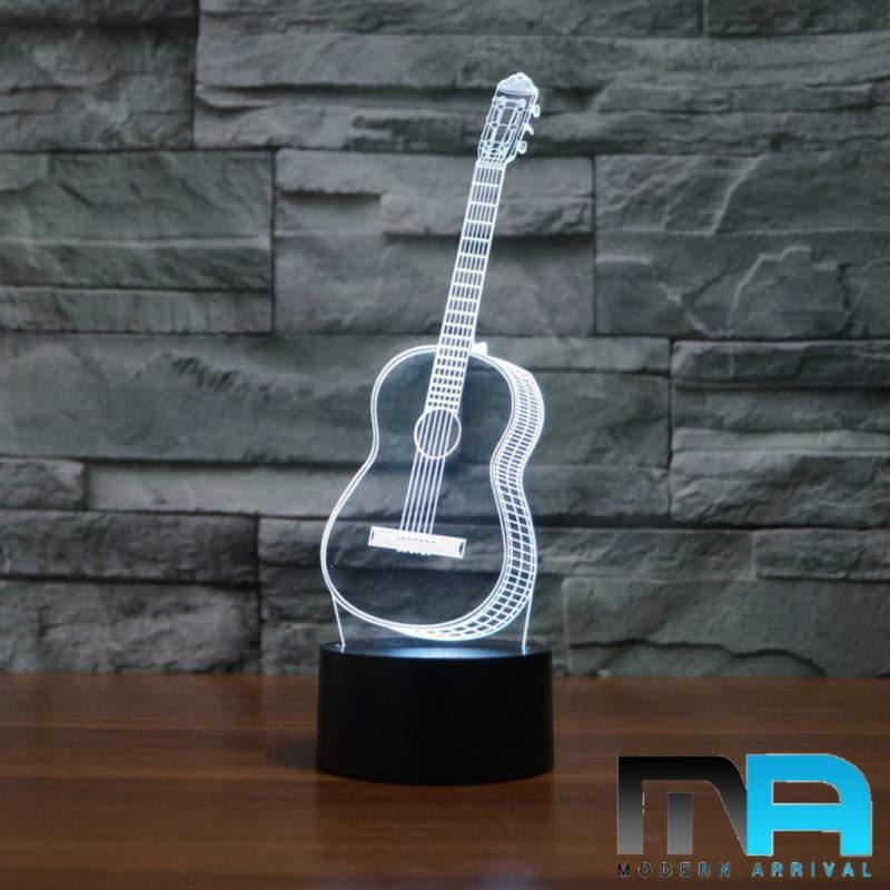 LED Classical Guitar Lamp