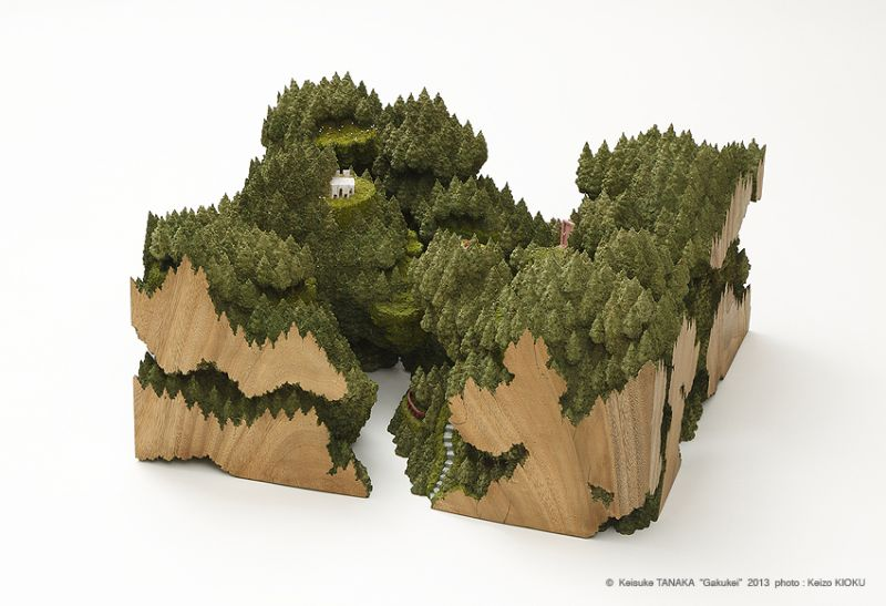 Landscapes on wooden frames by Keisuke Tanaka-5