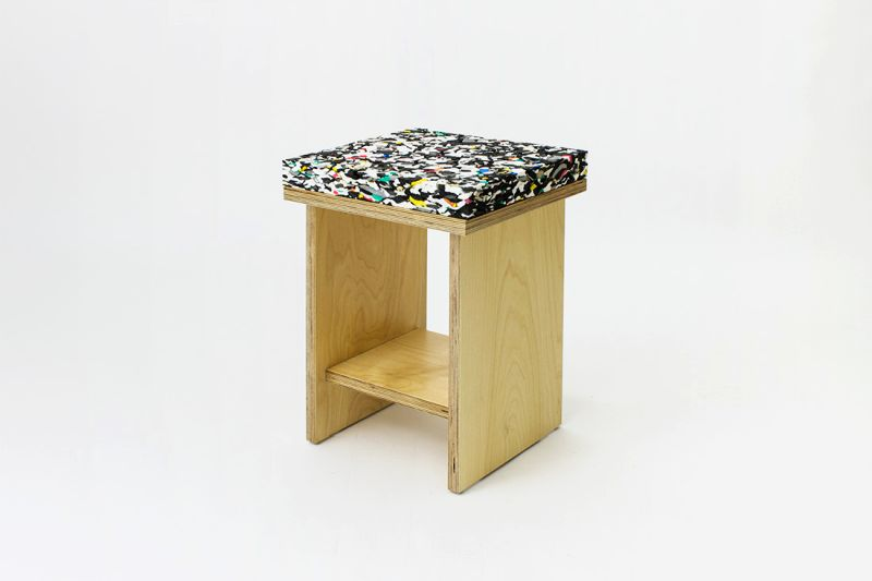 Marble Stool by Davide Aquini