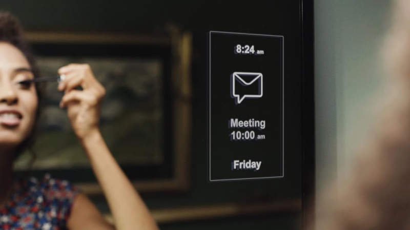 MirroCool smart mirror with facial gesture recognition launches soon on Kickstarter