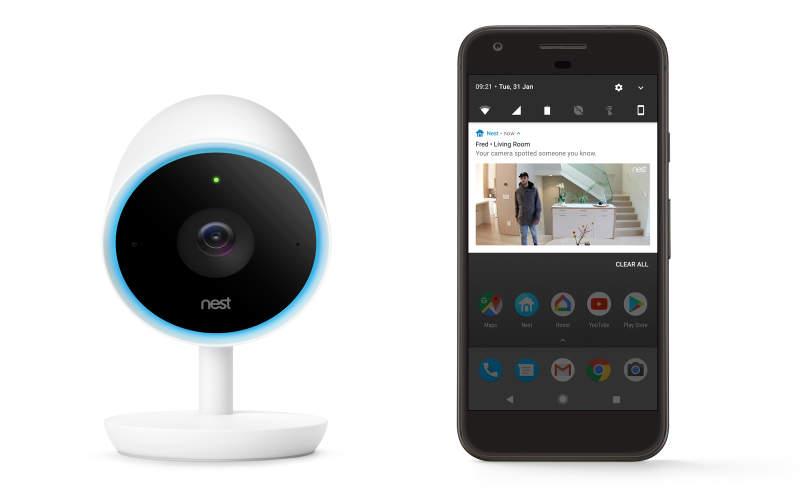 Nest S Indoor Security Camera Can Distinguish Between