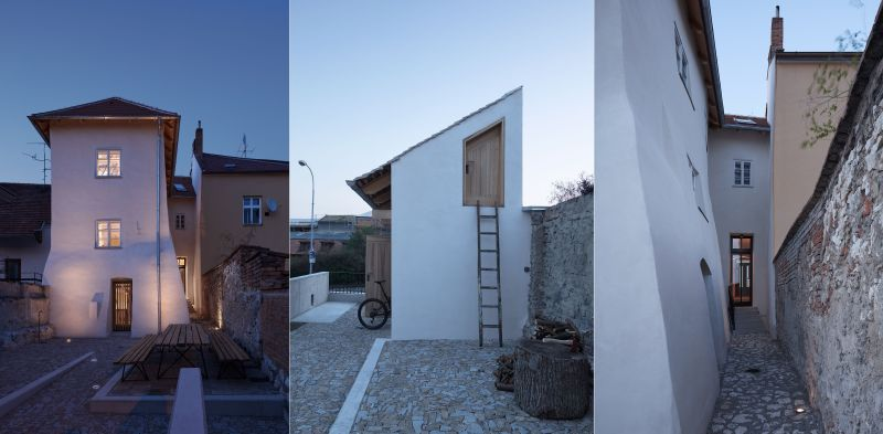 Ora renovation of mid century home into guest house