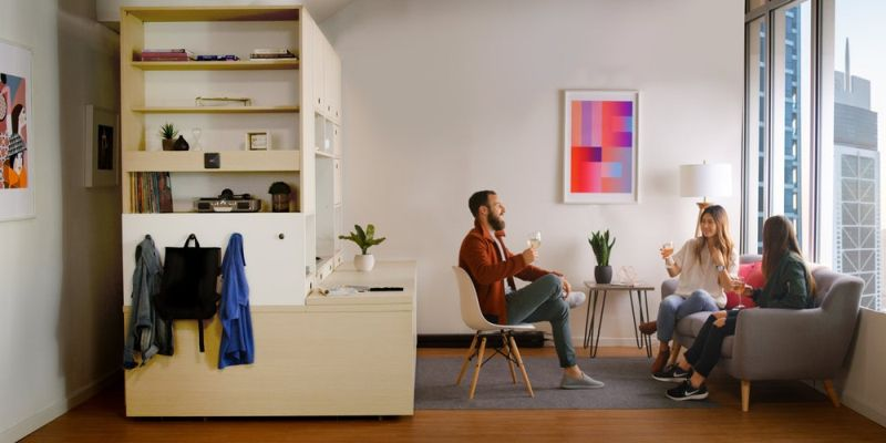 Ori systems space saving modular furniture is a glimpse of - Modular bedroom furniture systems ...