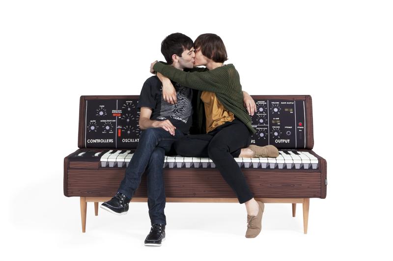 Piano-inspired Sofa