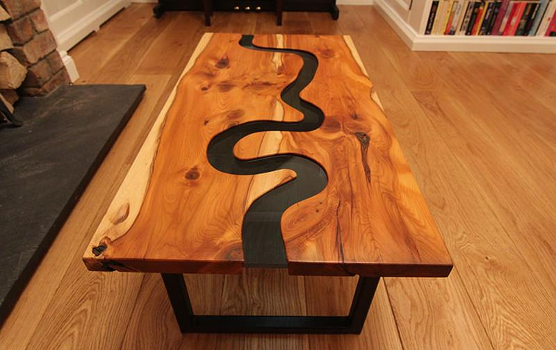 River Thames coffee table by Johnson Furniture