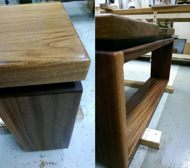 River coffee table by Woodhouse Carpentry