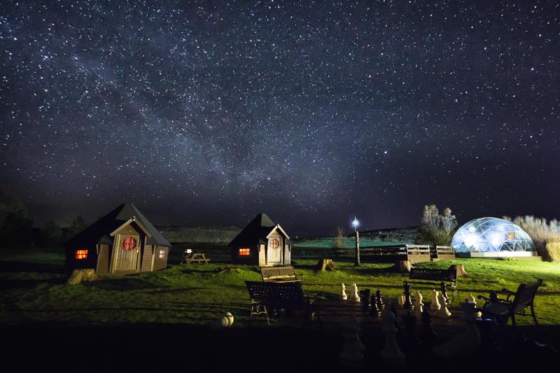 Skyewalker Hostel S Jedi Huts Immerse You In True Sci Fi