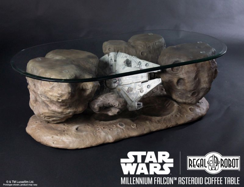 Millennium Falcon Asteroid Coffee Table Fit For Star Wars