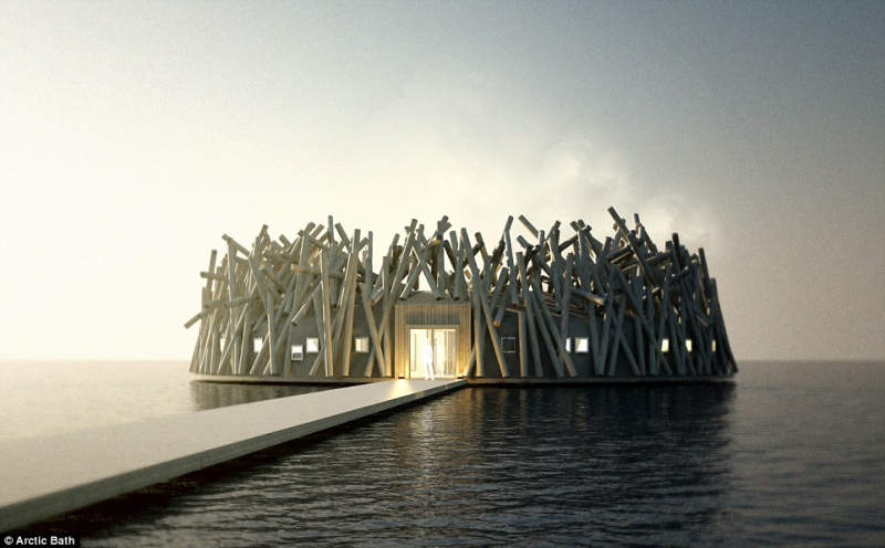 Floating Arctic hotel and spa is next big travel destination in Swedish Lapland