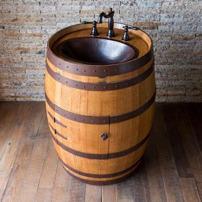Reclaimed Oak Wine Barrels