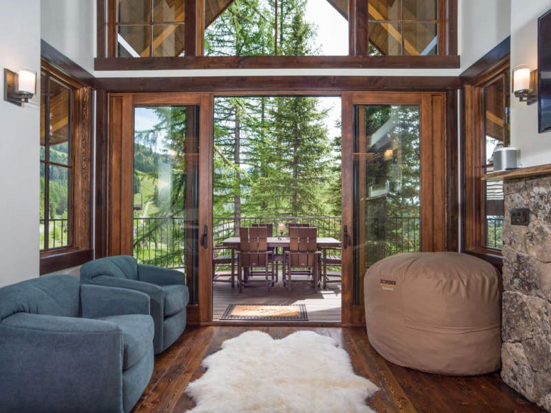 World's first ski-in, ski-out treehouses in Montana are perfect condos for skiers