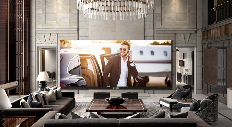 C SEED 262 – World's largest widescreen 4K TV that's got no competition