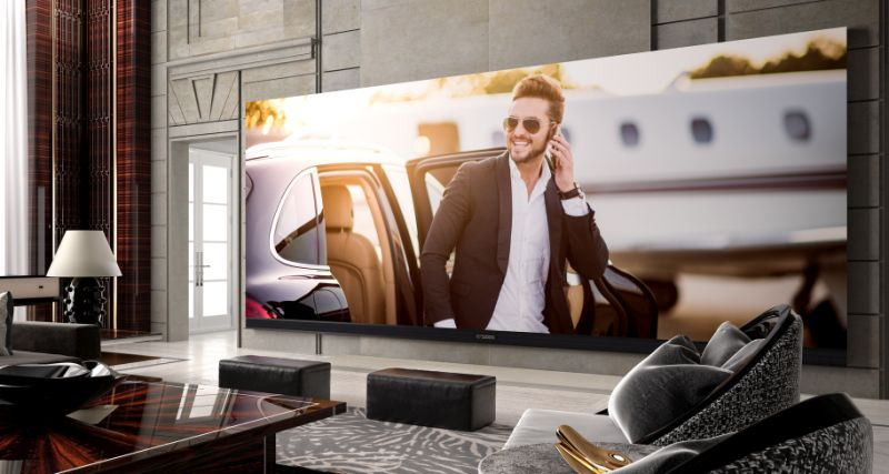 C SEED 262 - World's largest widescreen 4K TV that's got no competition