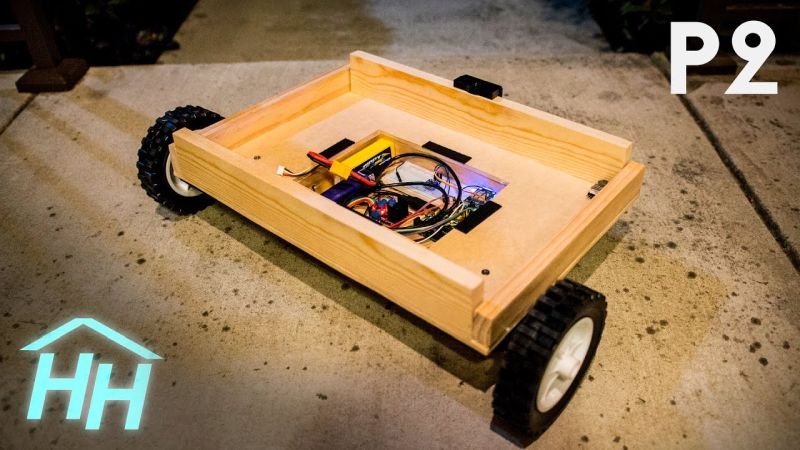 Arduino powered autonomous cooler uses gps to follow you for Motor cooler on wheels