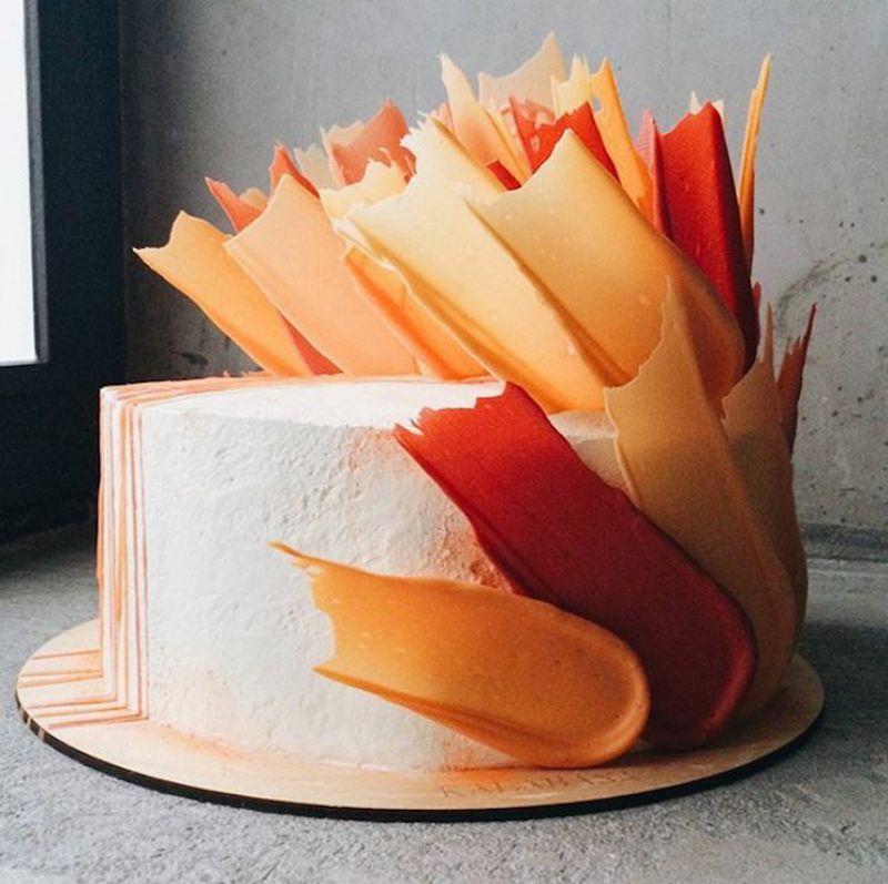 Kalabasa Bakery S Jaw Dropping Cakes Look Like 3d Brushstrokes