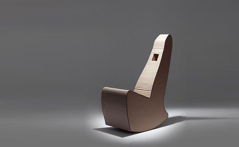 Nook designs innovative Cardboard Rocking chair
